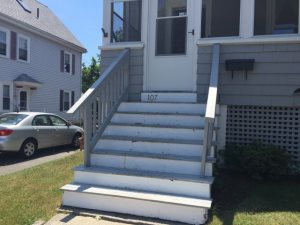 Replace Front Porch Stairs Cover Photo