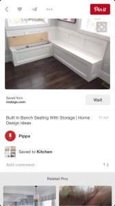 Built In Bench Cover Photo