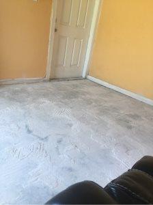 Ceramic Tile Floor Installation
