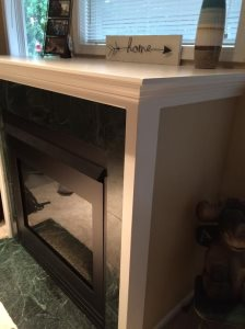 Removal Of Gas Fireplace Cover Photo