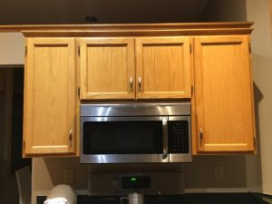 Kitchen Cabinets Staining  Cover Photo