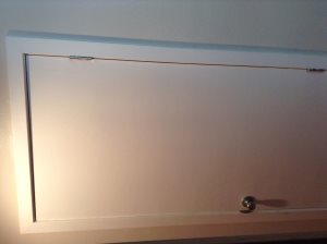 Expand door frame for water heater/furnace interior closet Cover Photo