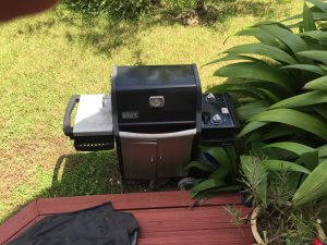Gas Grill Cover Photo