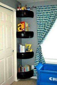 Tire Bookshelf For Son Cover Photo
