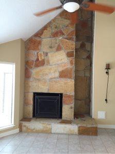 Fireplace Door Installation