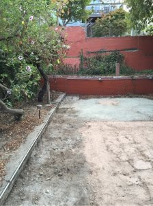 Concrete Platform For Hot Tub Cover Photo
