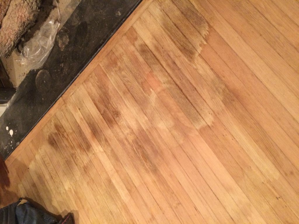Refinishing Wood Floors Cover Photo
