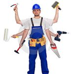 Handyman Carpentry Services Logo