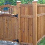 Cedar Fence Posts Contractors Logo
