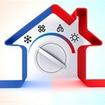 Hybrid Heating & Air Conditioning Logo