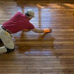 Hardwood Floor wax