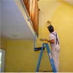 Bella House Paint Service Logo