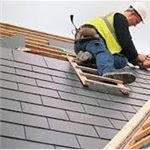 Shingle Roofing Contractors Logo