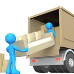 J & I Delivery & Moving Service Logo