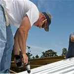 uailty Home Improvement & Roofing Logo