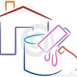 Water Damage Home Contractors Logo
