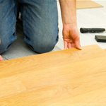 Black Hardwood Flooring Services Logo