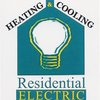 Residential Electric, Heating, Cooling & Insulation Logo