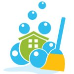 Mother & Son Cleaning Logo