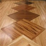 Dark Wood Floors Company Logo