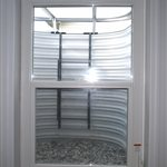 Frosted Glass Interior Door