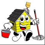 The latinas house cleaning Logo
