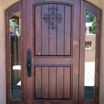 Front Door Wood Contractors Logo