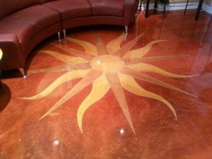 Power Stretcher Flooring & Design Center Logo