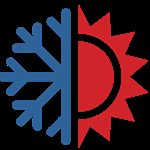 Franklin Heating & Cooling Logo