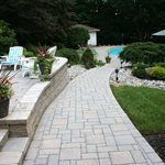 Crushed Stone Patio