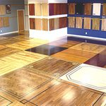 Elements Hardwood Flooring Design Logo