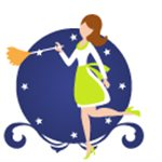 Dust Till Dawn 24hr House Cleaning Service Logo