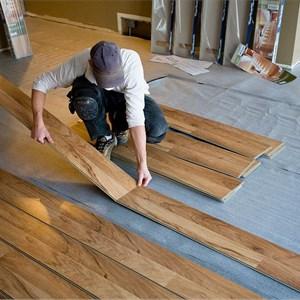 Hardwood Tek Flooring Specialist Logo