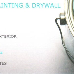 J & A Painting and Drywall Logo