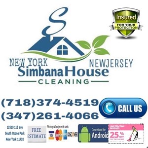 Simbana House Cleaning Logo