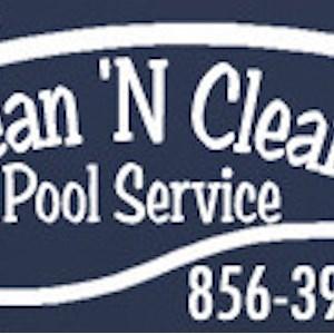 Clean N Clear Pool Service Logo