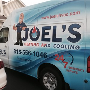 Joels Heating and Cooling Logo