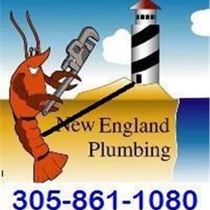 New England Plumbing Septic Logo