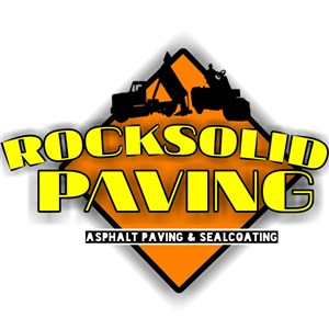 Rock Solid Paving Logo