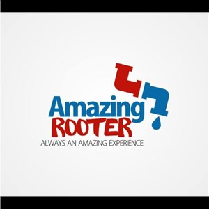Amazing Rooter, Plumbing and Drain Service Logo