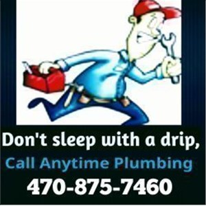 Anytime Plumbing and Appliance repair. Logo