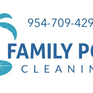 Family Pool Cleaning Logo