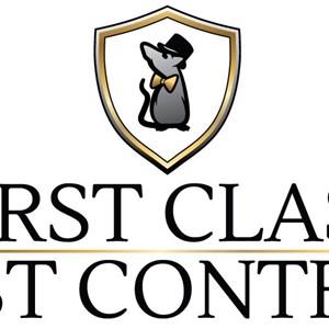 First Class Pest Control Logo