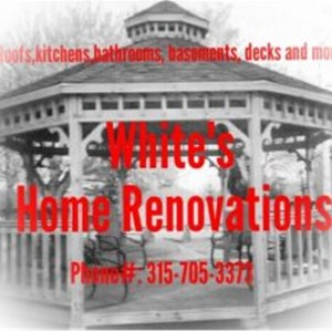 Whites Home Renovations 3157053373 Logo
