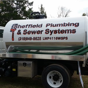 Sheffield Plumbing and Sewer Systems Logo
