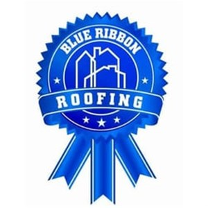 Blue Ribbon Roofing Logo