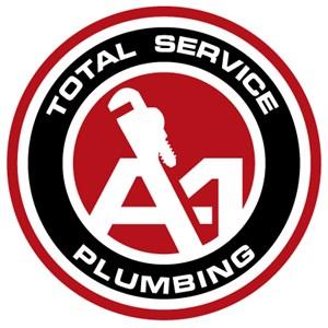 A-1 Total Service Plumbing Logo