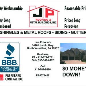 Jp Roofing & Metal Buildings Inc Cover Photo
