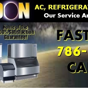 Coolmoon A/C Refrigeration & Appliances Logo