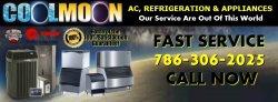 Coolmoon A/C Refrigeration & Appliances Logo
